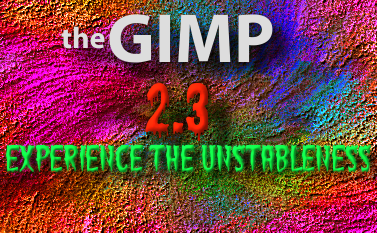 Splash Screen para gimp (Versões 2.3) Gimp-splash-r17270