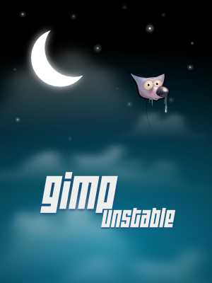 Splash Screen para gimp (Versões 2.5) Gimp-splash-r25458