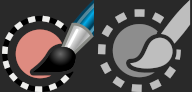 New Paint Select tool icon by Yash Arya and Aryeom - GIMP 2.99.6
