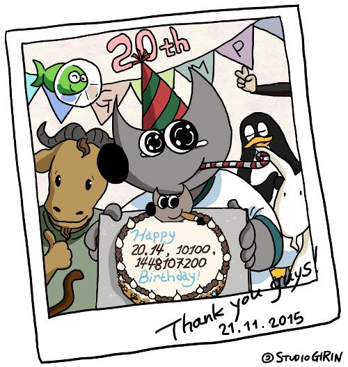 Wilber Birthday Snapshot
