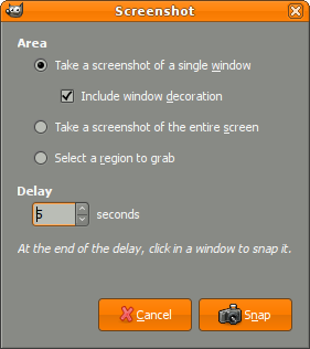 Screenshot plug-in