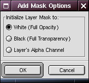 Add mask options