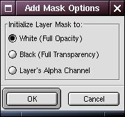 Add mask options