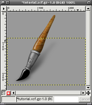 how to move a layer in gimp