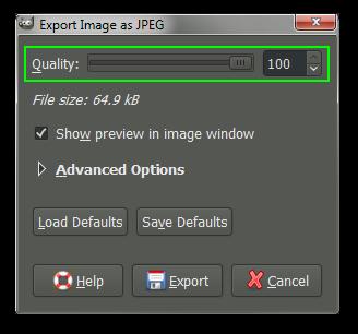 Export as JPG